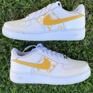 customized lv air force 1